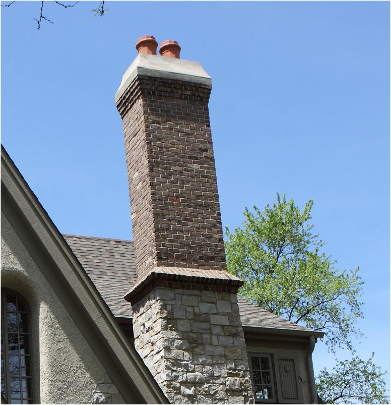 Battaglia Homes - Chimney Soldier Course Detail