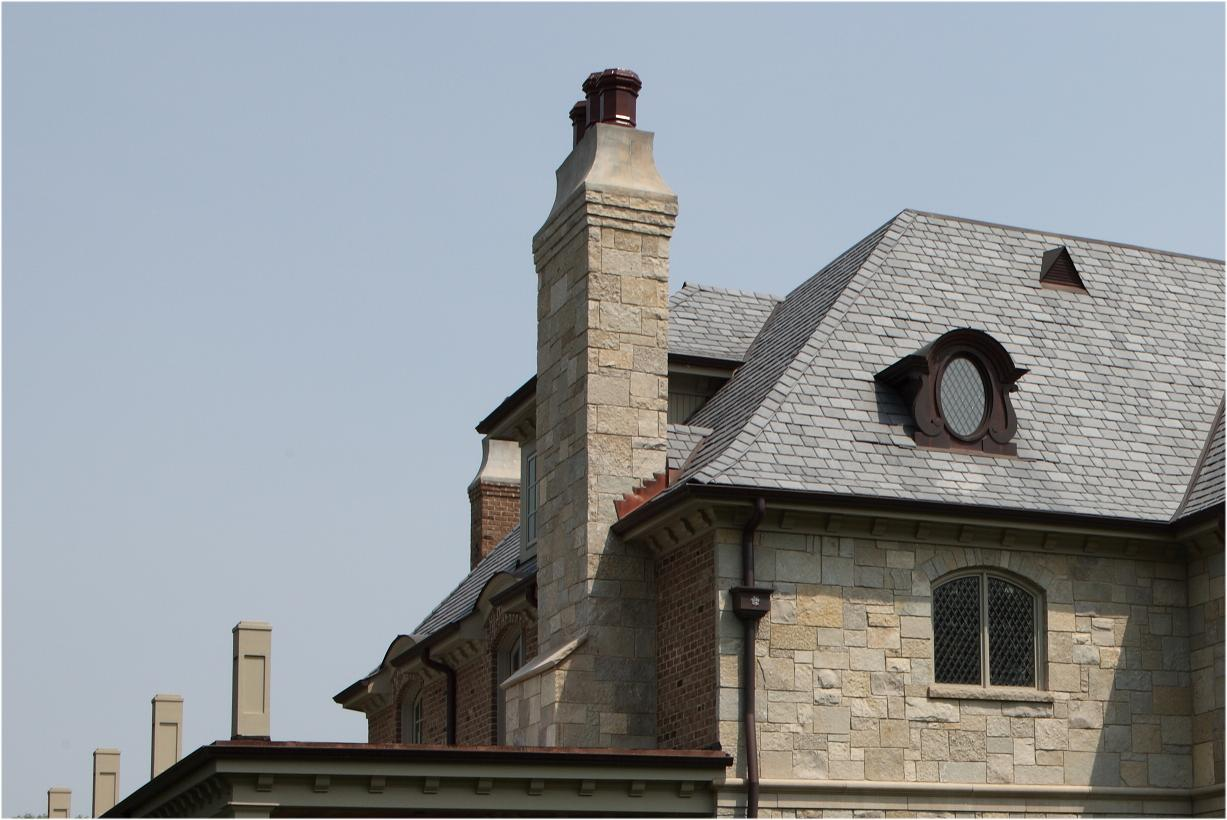 Battaglia Homes - Chimney Detail