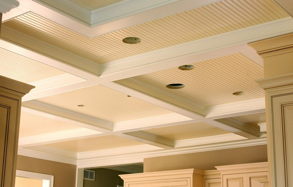 Coffered Ceiling 03 - Built by Battaglia Homes