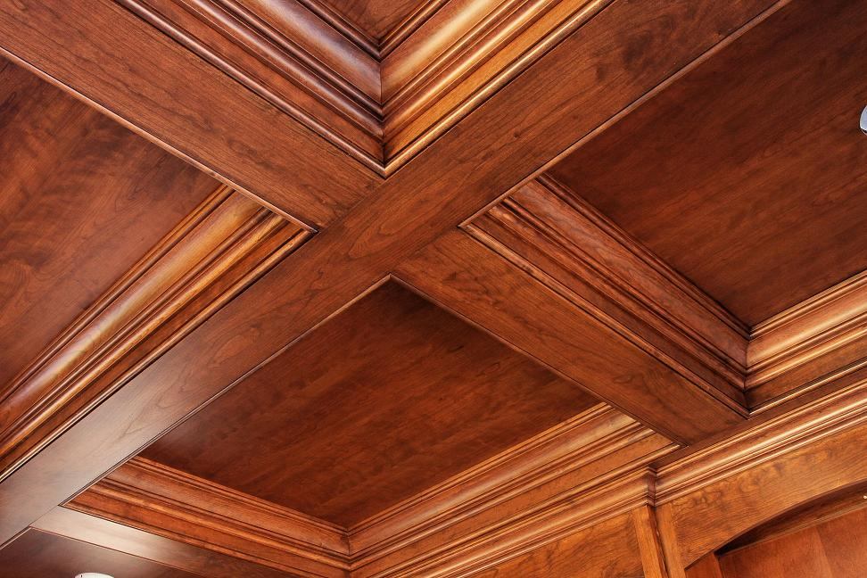Coffered Ceiling 02 - Built by Battaglia Homes