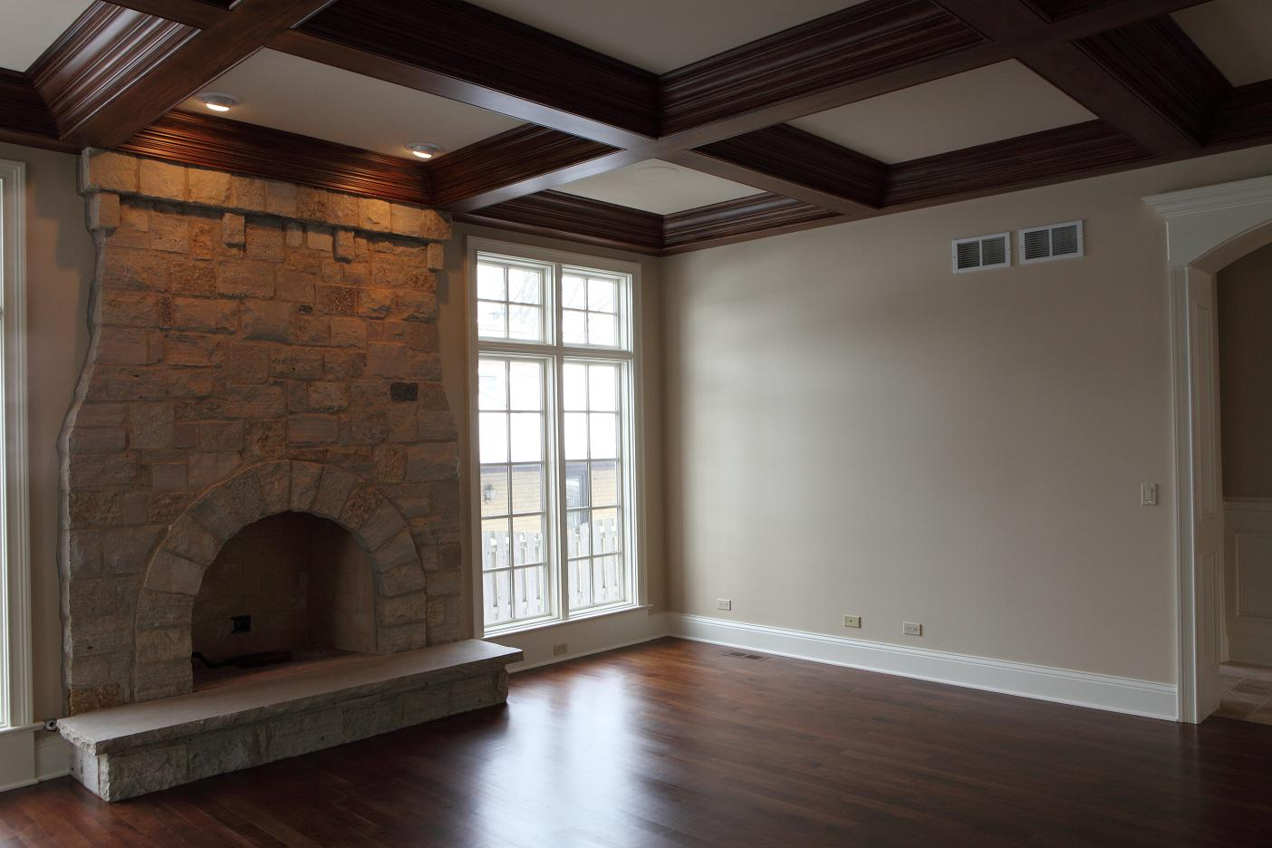 Coffered Ceiling 04 - Built by Battaglia Homes