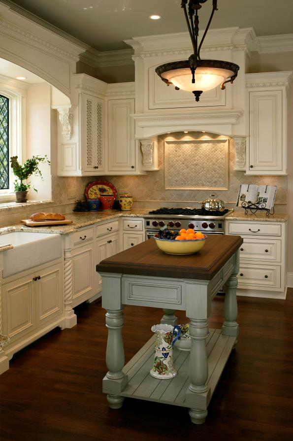 Designer Kitchen with Integrated Appliances - Battaglia Homes 2