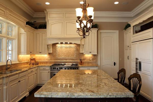 Designer Kitchen with Integrated Appliances - Battaglia Homes