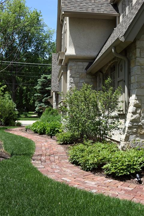 Battaglia Homes Hinsdale Reclaimed Brick 1