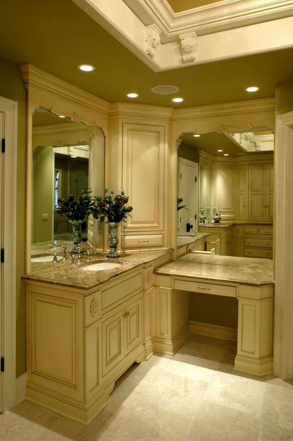 Luxury designer dream bathrooms battaglia homes custom Luxury master bathroom suites