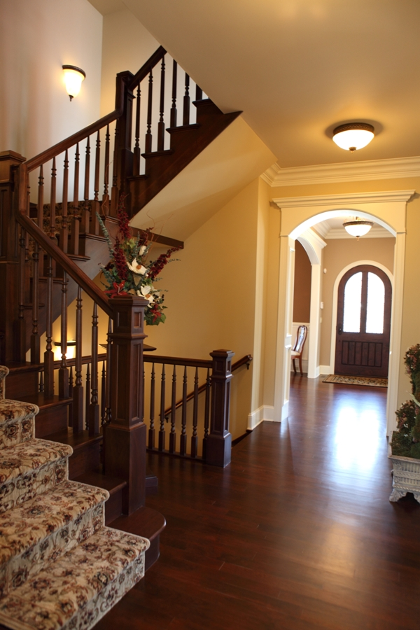 Battaglia Homes - American Cherry Hardwood Floors