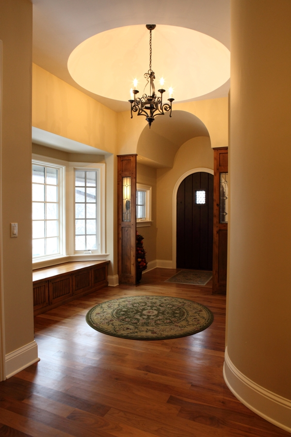 Battaglia Homes - Walnut Hardwood Floors