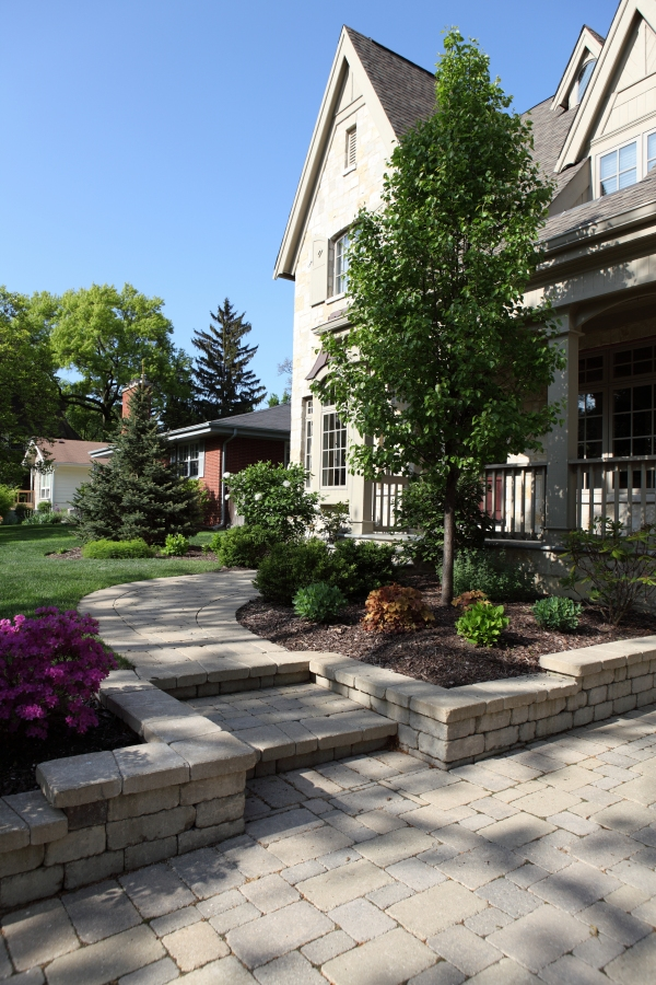 Brick Pavers Battaglia Homes - Hinsdale IL