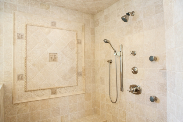 Multi-fuction shower head, hand held & body sprays  - by Battaglia Homes - Hinsdale, IL