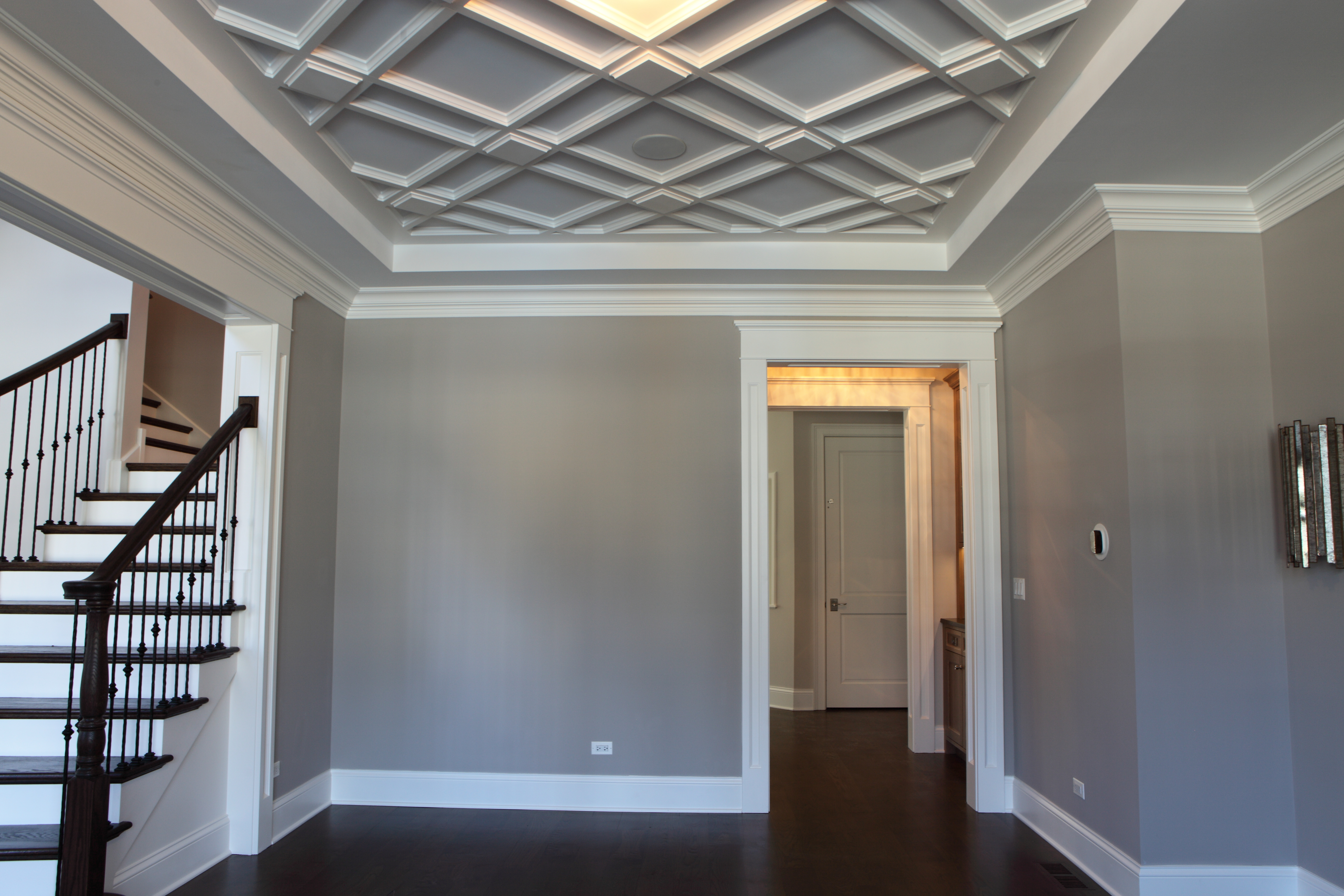 311 Princeton Interior Living Room Ceiling Detail