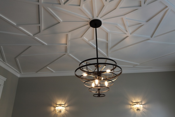 Battaglia Homes - Custom Built Home Oak Brook - Ceiling Detail