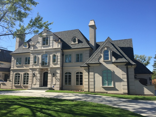 Battaglia Homes - Custom Built Home Oak Brook - Exterior