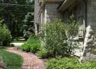 Vintage Brick Walkway - Side of Home