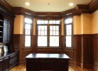 Study with Wainscoting