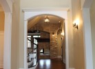Hallway / Foyer - Travertine Stone Tile