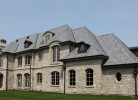 Front Elevation - Stone & Cedar