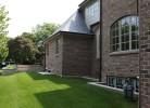 Side Elevation - Brick & Cedar