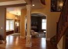 Hallway, Entryway & Living Room
