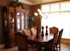 Dining Room with Walnut Hardwood Floors