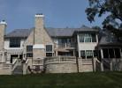 Rear Elevation - Stone & Stucco