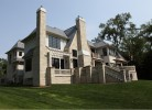 Rear & Side Elevations - Stone & Stucco