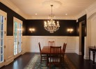 Dining Room with Wainscoting and Ceiling Detail