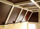 Great Room - Bead board Ceiling, Timbers & Crown Detail