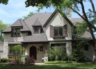 Front Elevation - Stone, Stucco & Cedar